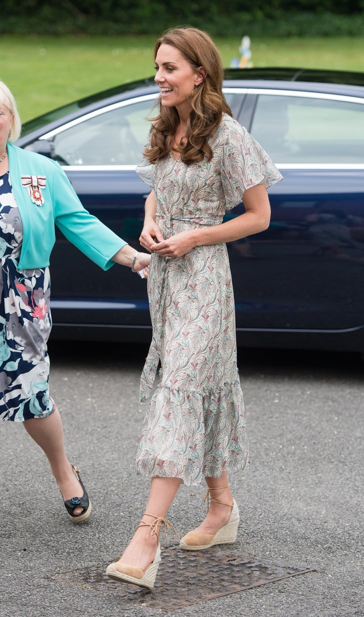Kate Middleton S Midi Tea Dress June 2019 Popsugar