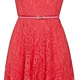 F&F coral lace belted dress (£25)