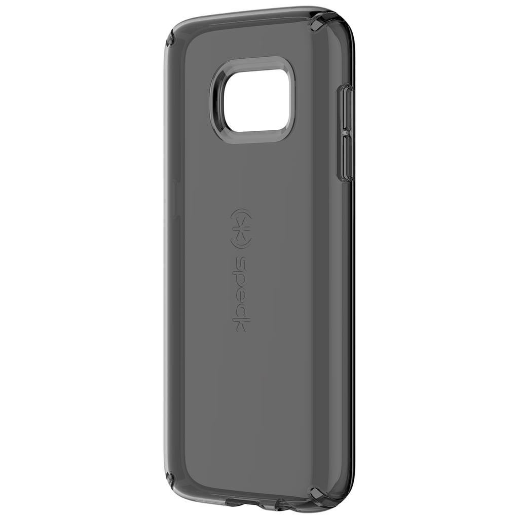 Candyshell Clear Samsung S7 Edge Case in Onyx Black ($40)