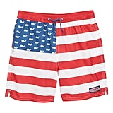 Vineyard Vines Chappy USA Flag Swim Trunks