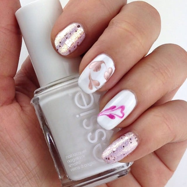 Best valentines day nail art of instagram popsugar beauty 100 crush worthy valentines day nail art prinsesfo Gallery