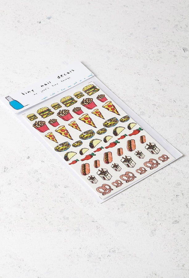 Forever 21 Snack Attack Nail Decals ($9)