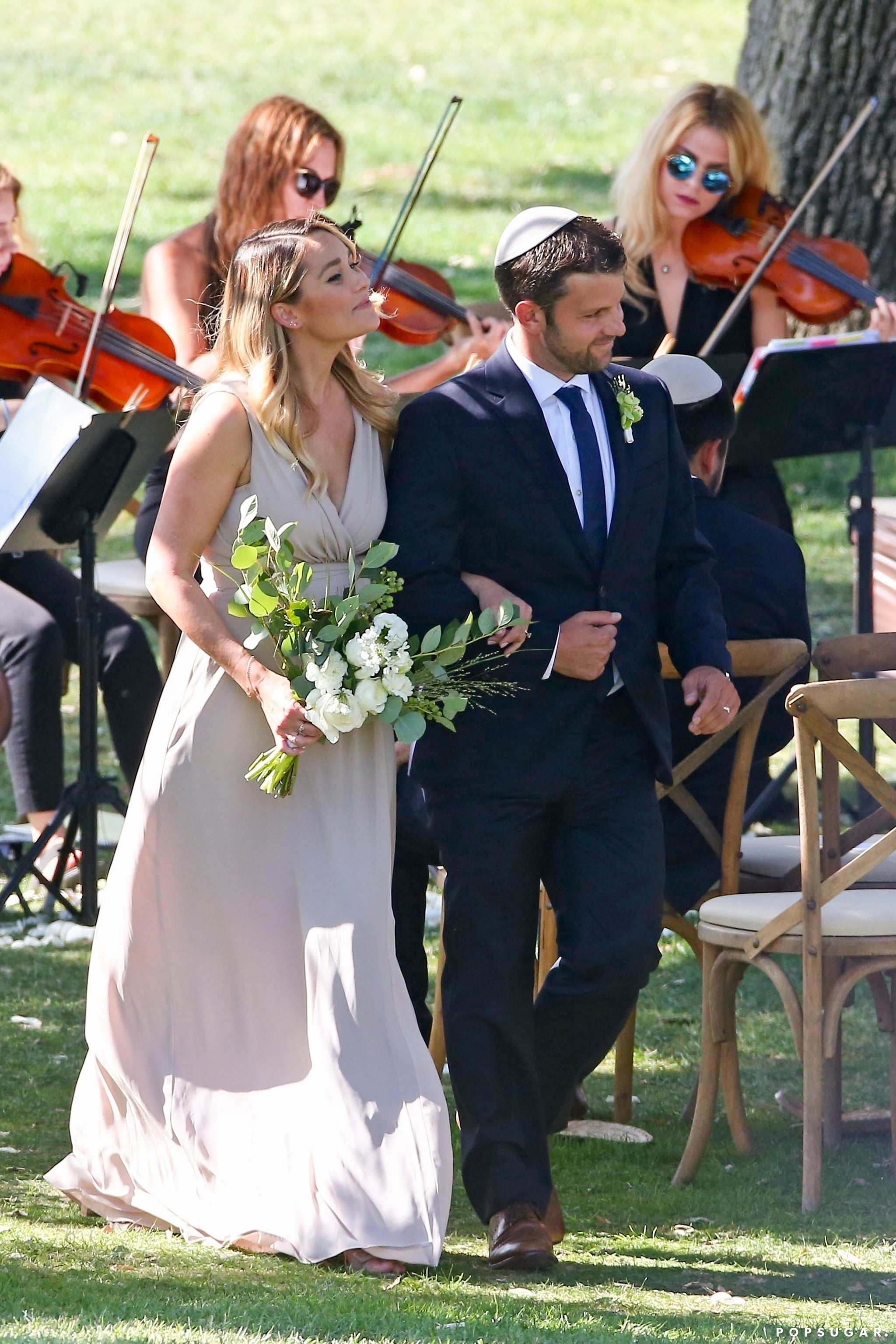 The Bridesmaids Gowns Were From Paper Crown Lauren Conrad