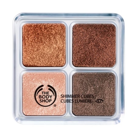 The Body Shop Chocolate Box Shimmer Cubes