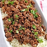 Paleo Spicy Korean Ground Beef and Cauliflower Rice