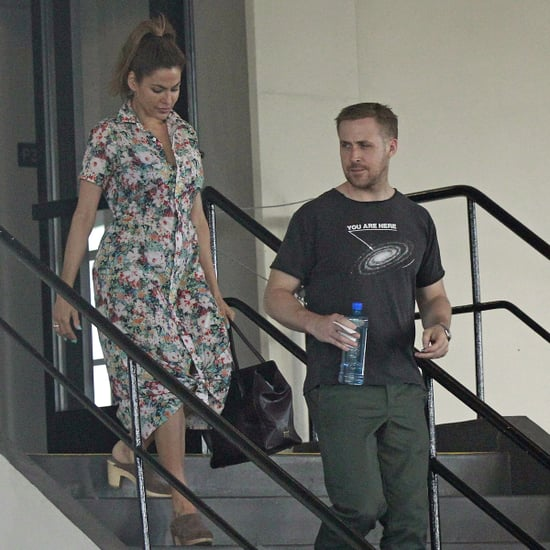 Ryan Gosling and Eva Mendes in LA Pictures April 2018