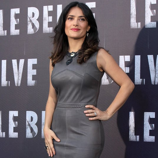 Salma Hayek in Rome For Savages Premiere | Pictures