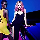 We spy even more cutouts and slits in this Mario Sorrenti-shot Rihanna For River Island campaign.