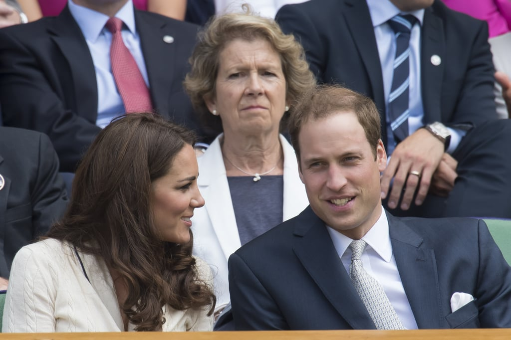 Kate Middleton and Prince William attended Wimbledon.