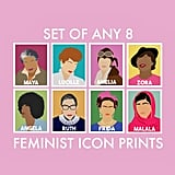 Set of 8 Feminist Icon Prints