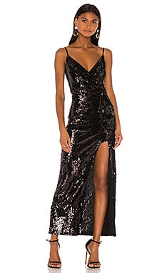 NBD Chrissy Gown in Black