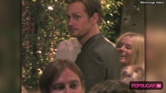 Video of Alexander Skarsgard and Kate Bosworth at True Blood Cast Party
