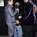 Jeremy Renner said hi to LL Cool J.