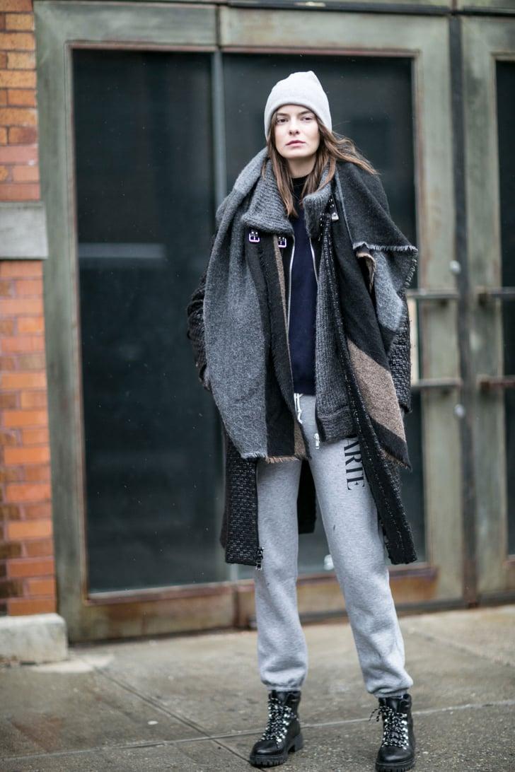 New York Fashion Week Model Street Style At Fashion Week Fall 2016 Popsugar Fashion Photo 212