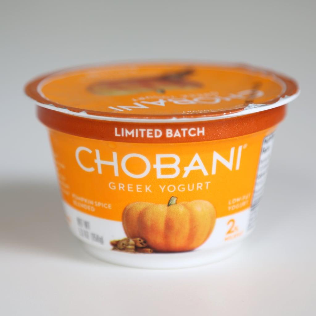 Chobani 2% Pumpkin Spice Greek Yogurt