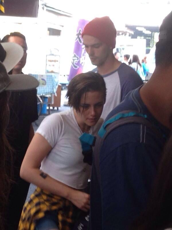 Kristen Stewart and Nicholas Hoult Explore Japan Together