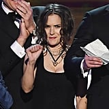 Winona Ryder Reactions at 2017 SAG Awards