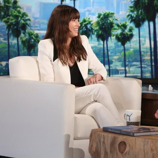 Jessica Biel and Ellen DeGeneres Calling Justin Timberlake