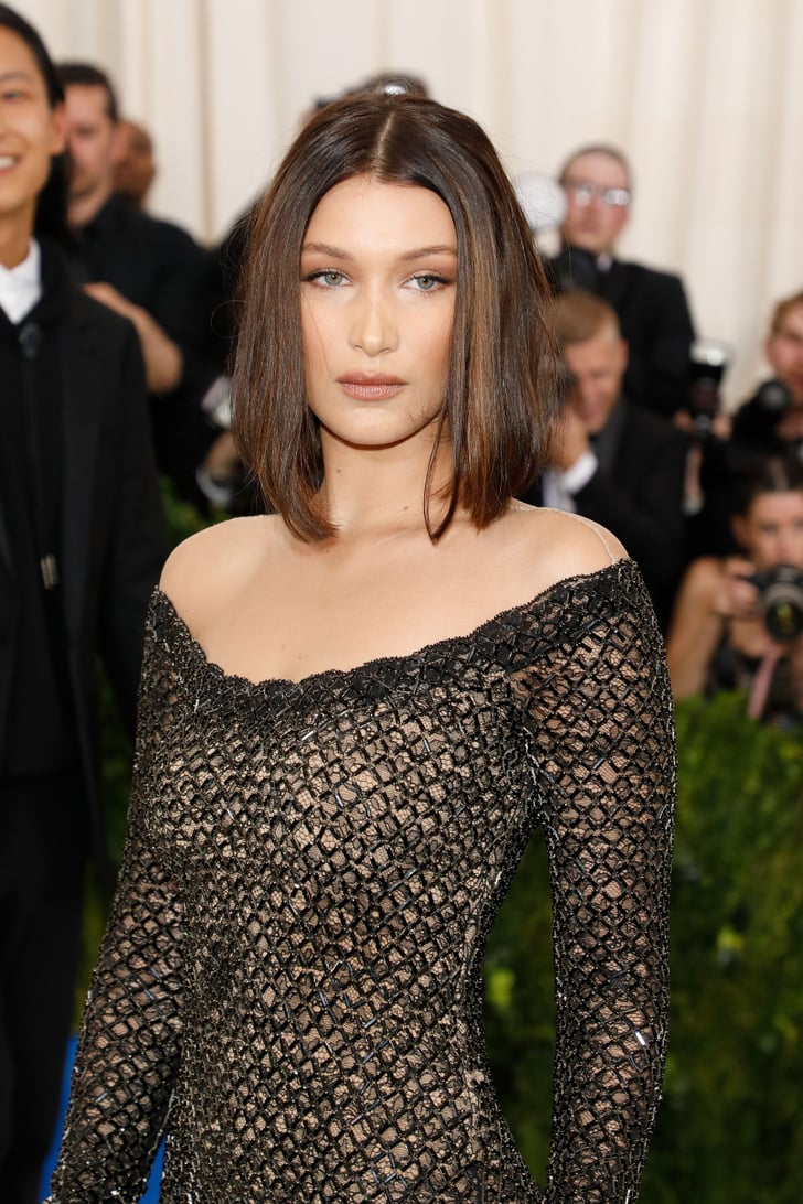 Bella Hadid Bob Haircut at the Met Gala 2017 | POPSUGAR Beauty Middle East