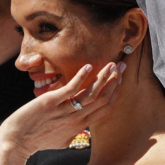 Meghan Markle Wore CND Shellac Nail Polish on Wedding Day