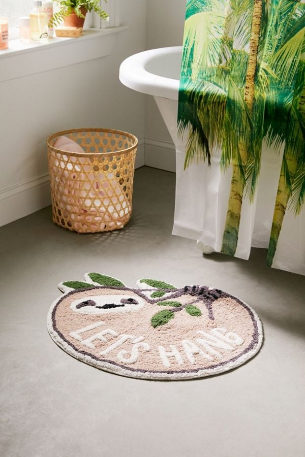 Let's Hang Bath Mat