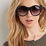 Forever 21 Matte Oversized Round Sunglasses