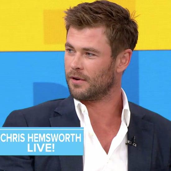Chris Hemsworth Talks About Kids' Halloween Costumes 2017