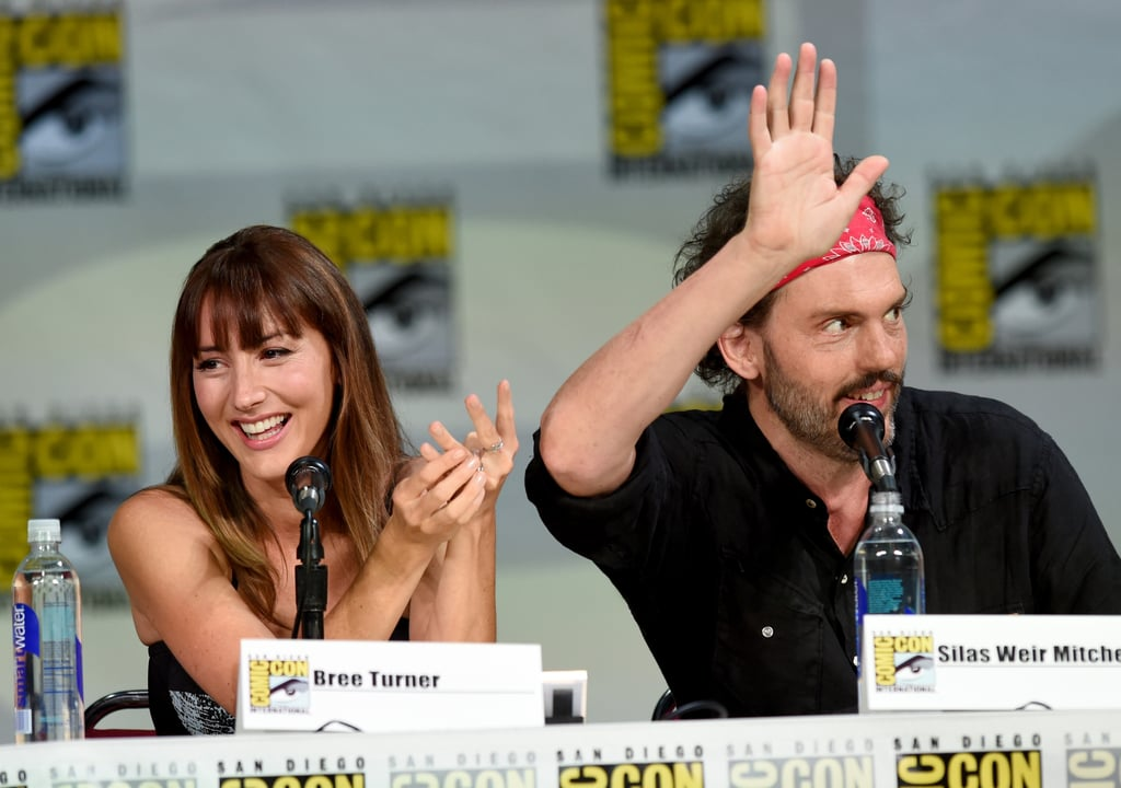 Grimm's Bree Turner and Silas Weir Mitchell brought the laughs at their panel on Saturday.