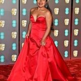 Yalitza Aparicio at the 2019 BAFTA Awards