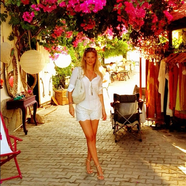 Bar Refaeli visited Turkey in July.