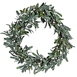 18 Inch Glittered Christmas Wreath