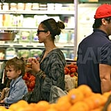Pictures of Jessica Alba and Family