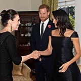See More Pics of Meghan in Her Gabriela Hearst Dress