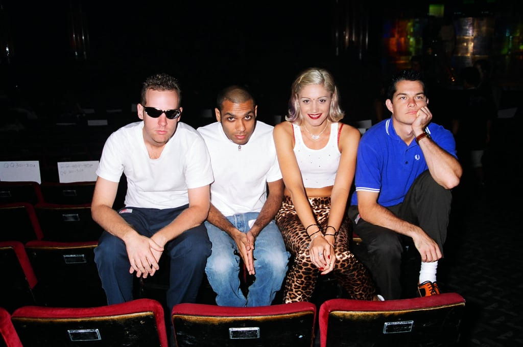 Hanging With Her No Doubt Bandmates in 1996 . . .