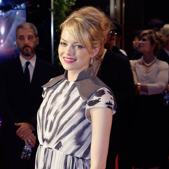 Emma Stone and Andrew Garfield Pictures at The Amazing Spider-Man Korea Premiere