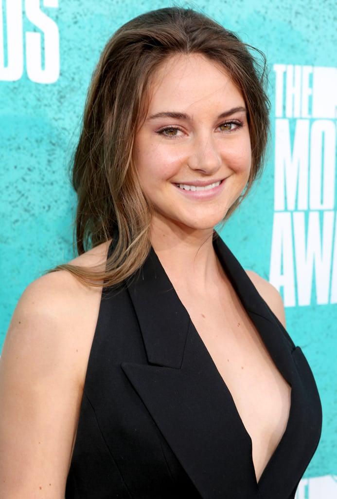 Shailene Woodley attended the 2012 MTV Movie Awards.