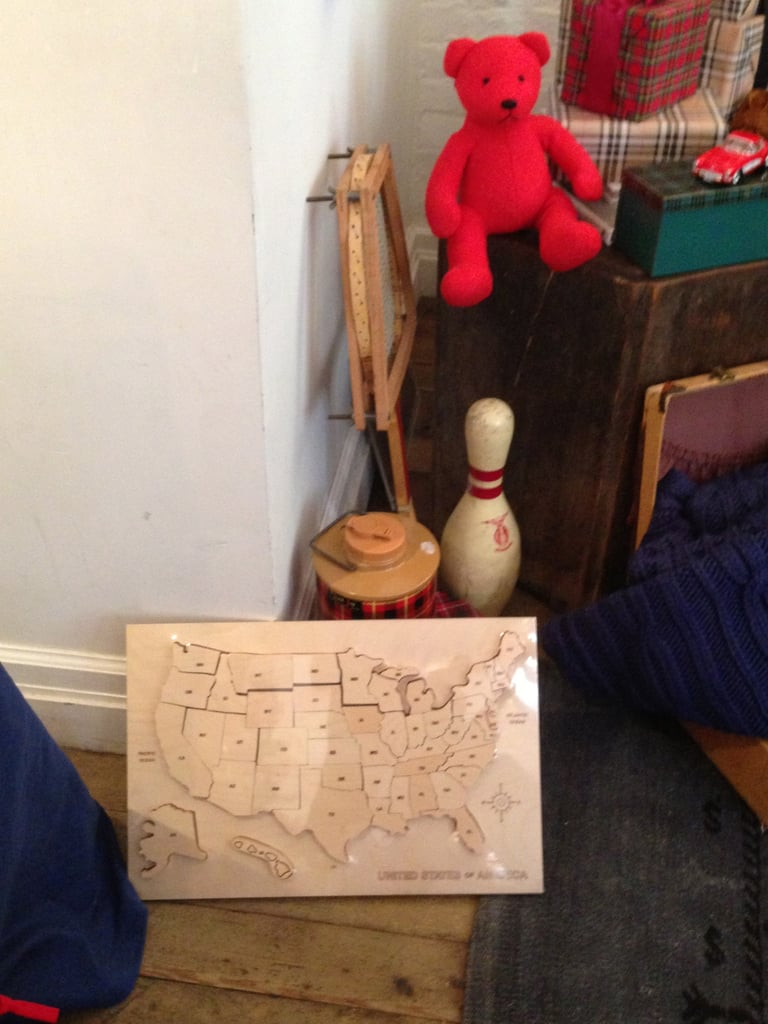 Check out this US map puzzle — a great gift for an older kid.