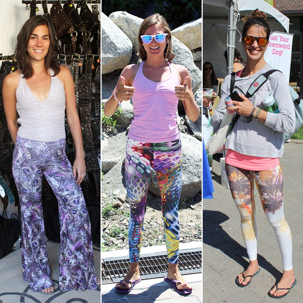 Trendy Printed Yoga Pants 2013 | POPSUGAR Fitness