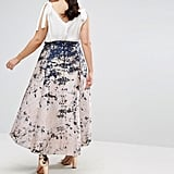 Coast Curve Red Carpet Dip Hem Marble Skirt