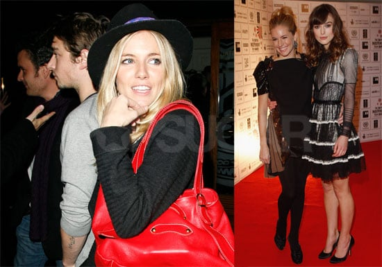 Photos of Balthazar Getty and Sienna Miller Back Together in London on Thanksgiving