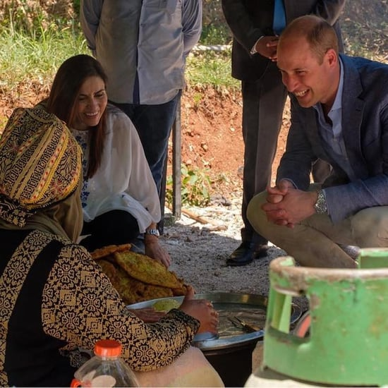 Prince William Makes Bread in Jordan, Lands in Israel