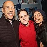 Rosario Dawson and Cory Booker