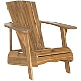 Acacia Wood Outdoor Adirondak Chair