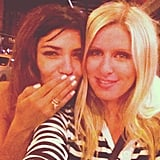 Nicky Hilton and Jessica Szohr teamed up for a night out. Source: Instagram user nickyhilton
