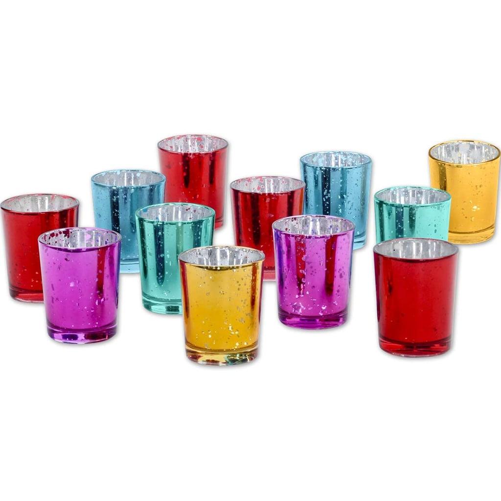 Koyal Wholesale Mercury Glass Votive Candle Holders Best Holiday Table Decor On Amazon Popsugar Home Uk Photo 14