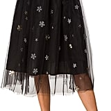 Alcea Sparkly Snowflake Tulle Skirt