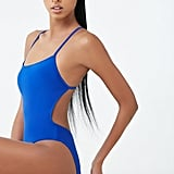 Active High-Leg One-Piece Swimsuit