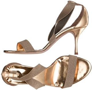 Trend Alert: Solid Gold Shoes