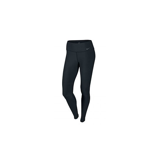 A pair of full-length, sweat-wicking, all-black running tights are a flattering option for yoga, cardio class or for running. The best in our books are by Nike.  Tights, $70, Nike