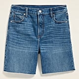 Old Navy High-Waisted Relaxed Cut-Off Jean Shorts